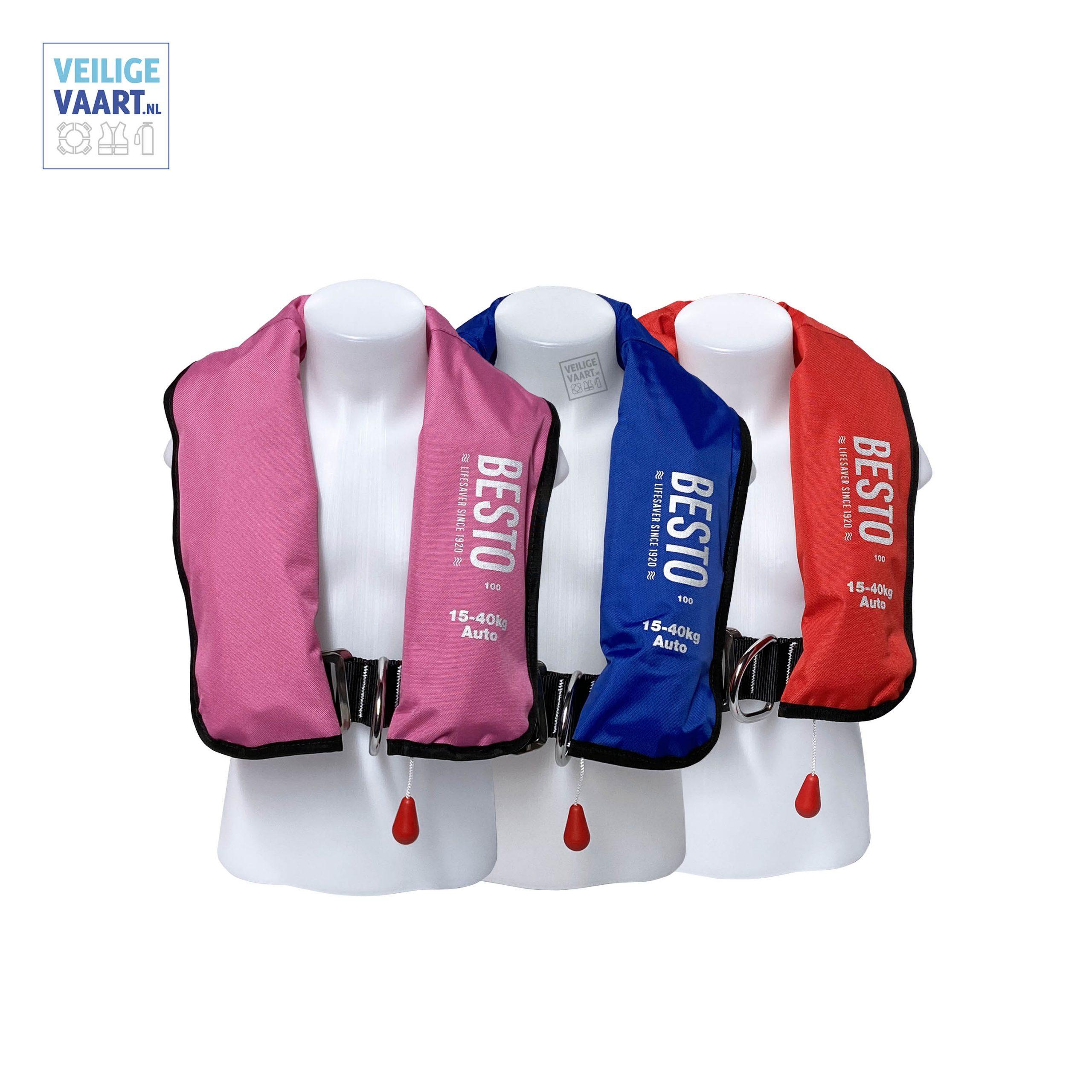 kinderen, reddingsvest, Automatisch noodvest voor kinderenautomatisch_kinderreddingsvest_besto_junior_inflatable_100n