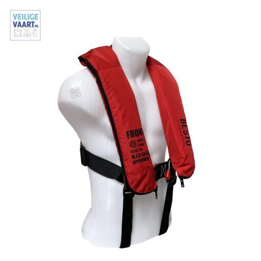 Besto Inflatable Red Offshore, Reddingsvest voor op zee