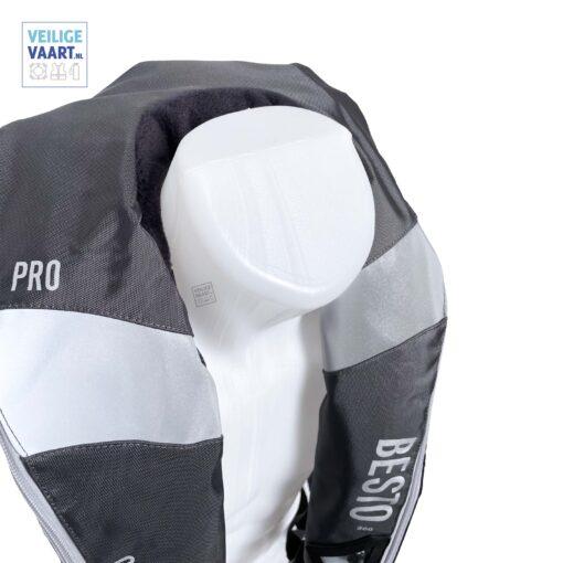 Best comfort fit pro 300n Antraciet fleece