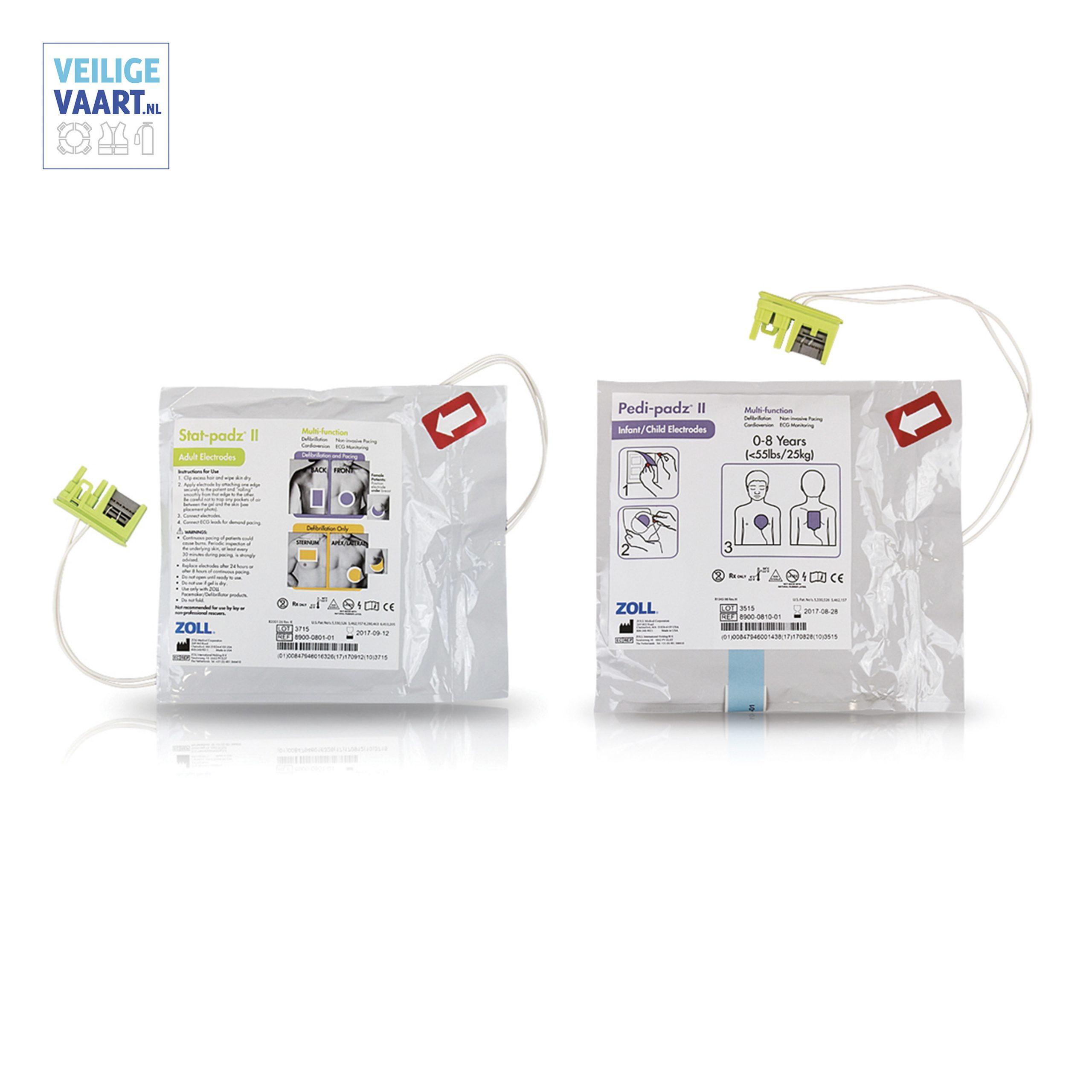 Zoll elektrode AED