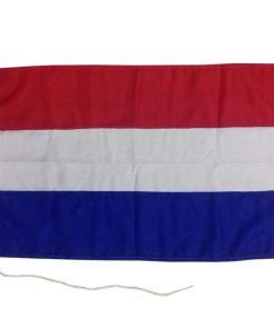 Nederlandse vlag boot 70 x 100