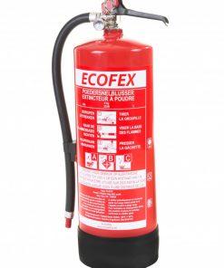 Ecofex poederblusser 6KG