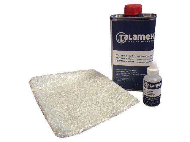 reparatieset polyester, Polyester reparatie kit