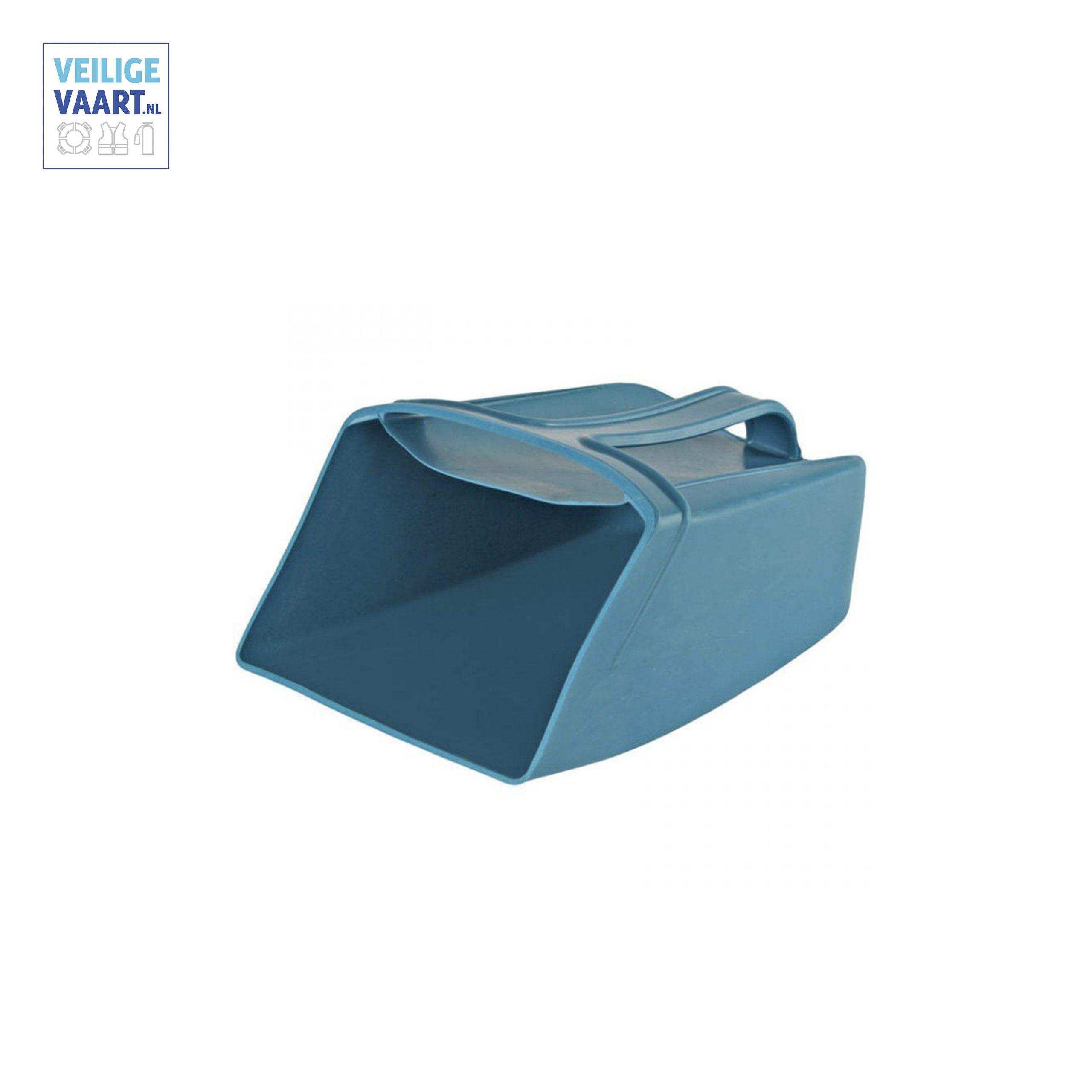 hoosvat 1,2 liter blauw, Waterschep om te hozen, vat voor waterlozing