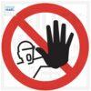 geen toegang pictogram, Niet betreden, No entry