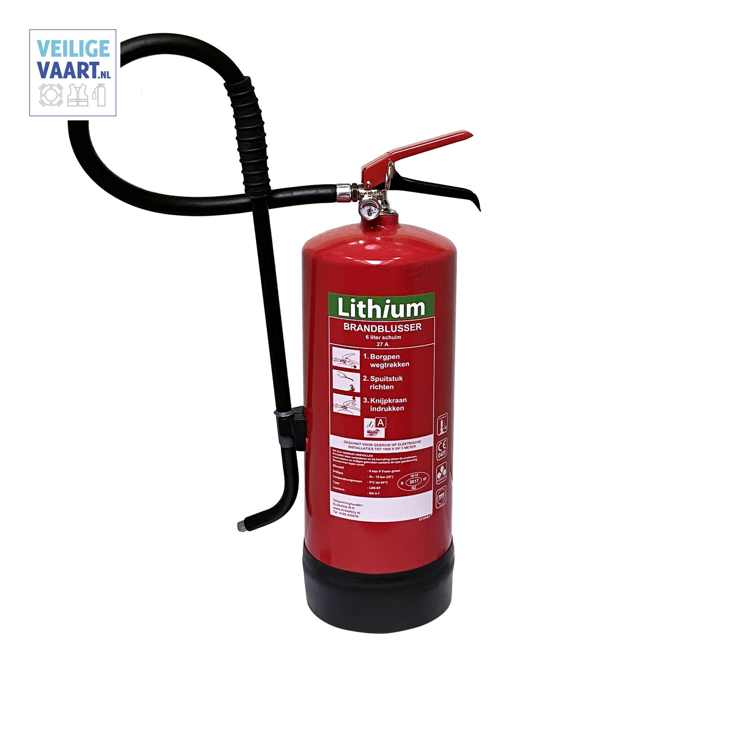 Lithium Brandblusser