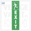 Exit Pictogram klein links