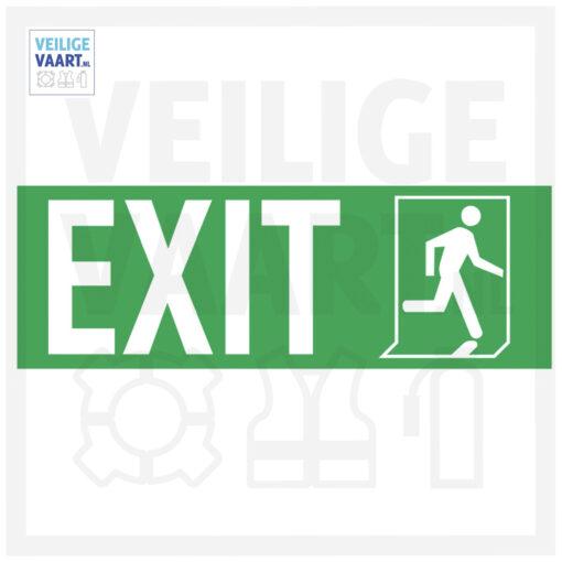 Exit pictogram