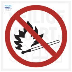 no fire pictogram