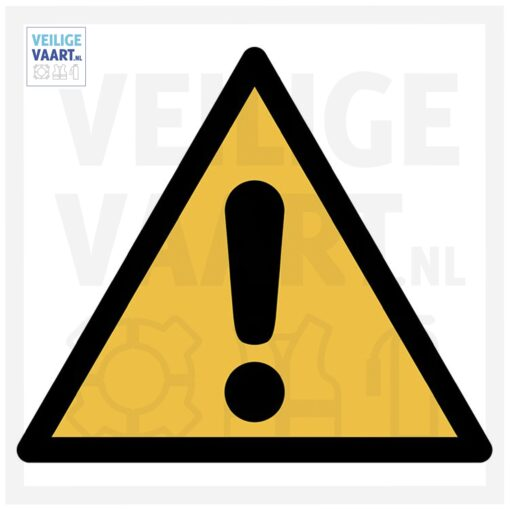 Caution pictogram